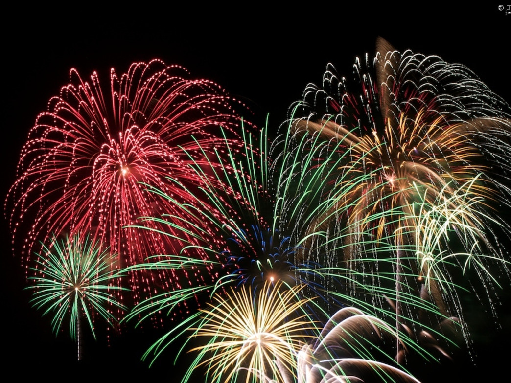Several ski resorts around Jackson Hole have fireworks on New Year's Eve.