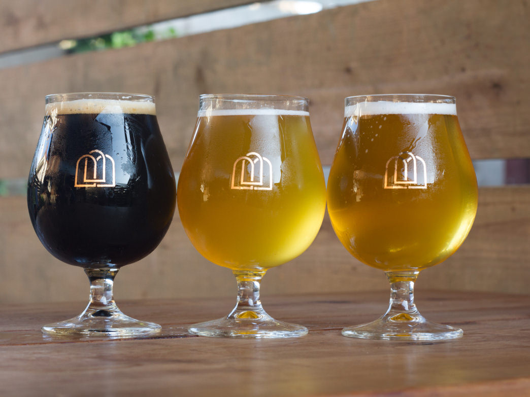 Third Window Brewing features seasonal brews made with local ingredients.