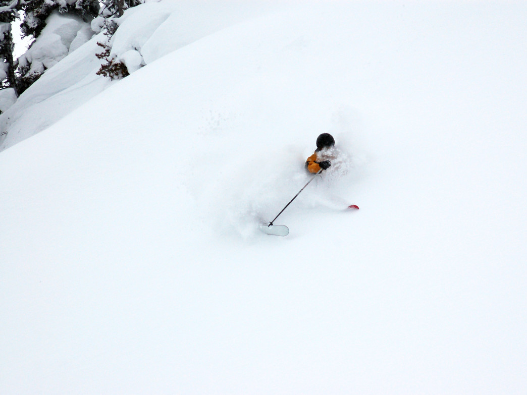 Get your snorkel ready—plenty of powder awaits this ski season.