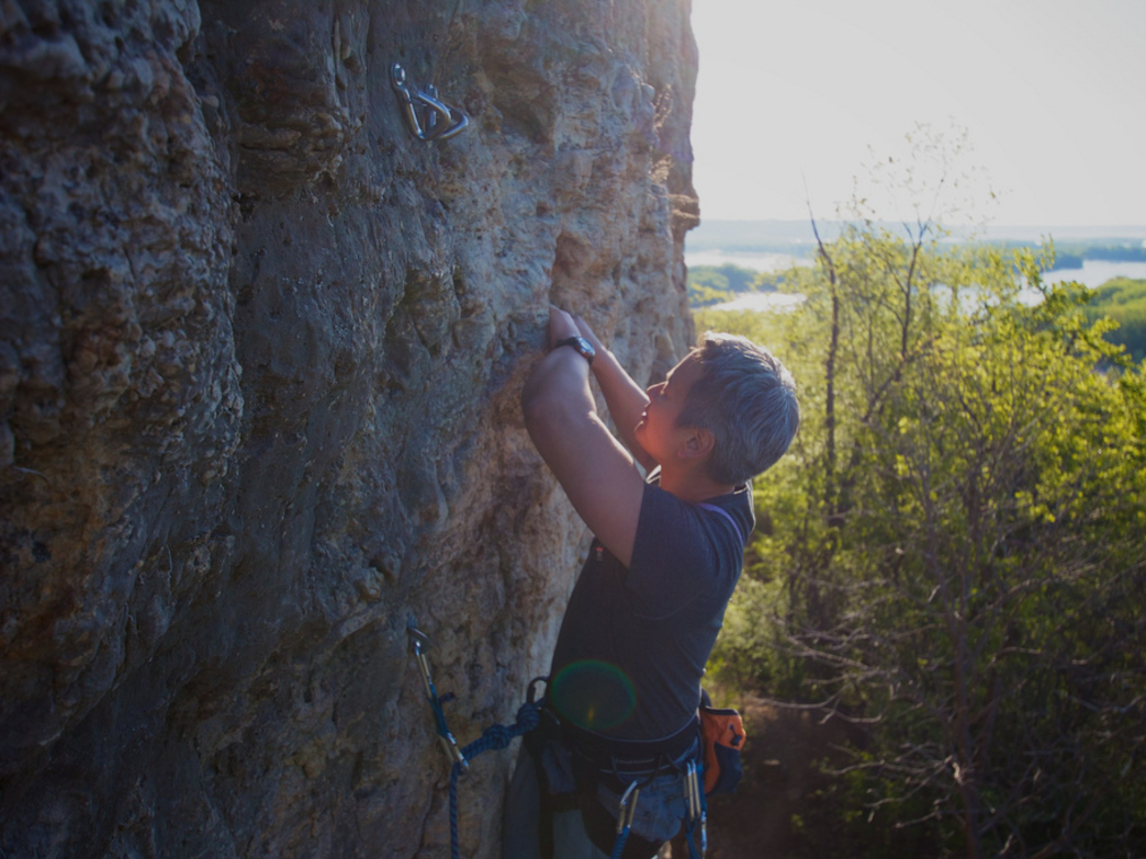 Trad Climbing at Red Wing