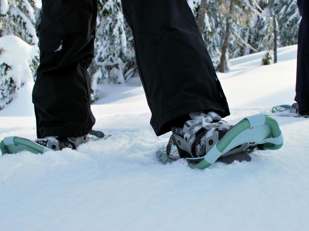 Slapping on a pair of snowshoes and hitting the trail is the perfect antidote for the winter doldrums
