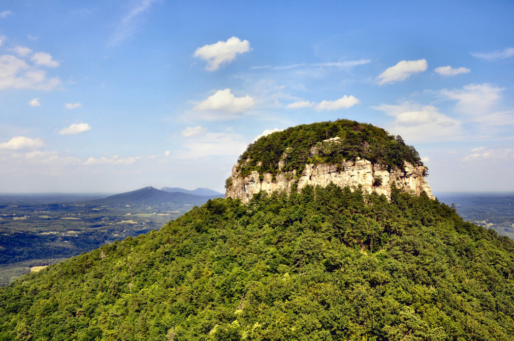 The Story Behind North Carolina S Pilot Mountain State Park