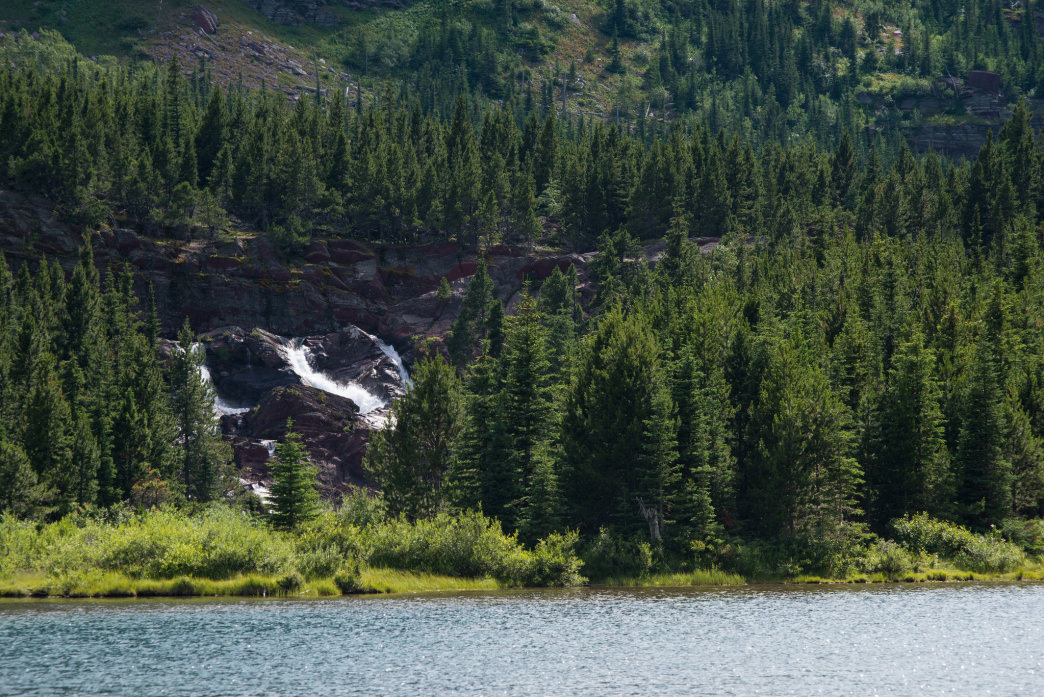 Redrock Lake in all its glory.