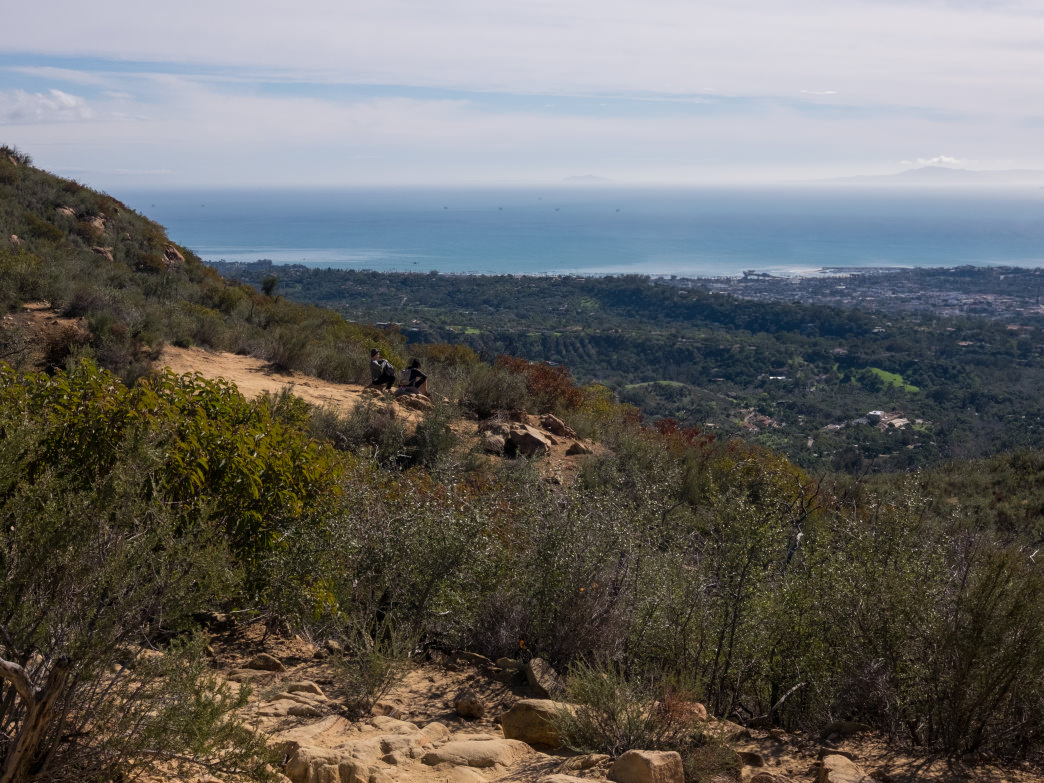 The Inspiration Point hike will take about 1.5 hours and has an elevation gain of 800ft.
