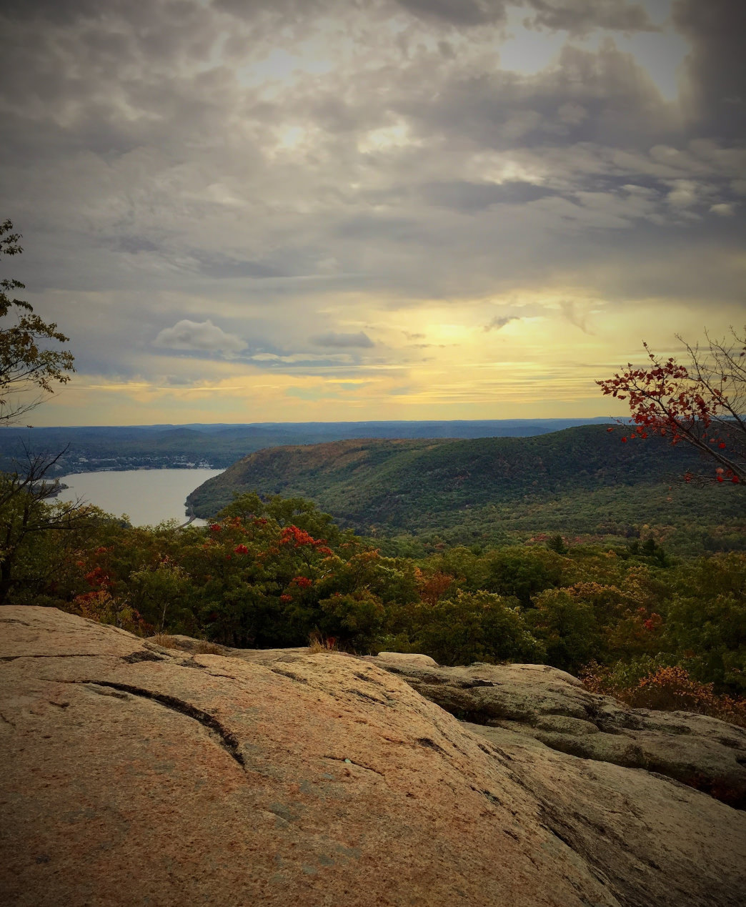 The view from Perkins Tower at Bear Mountain State Park