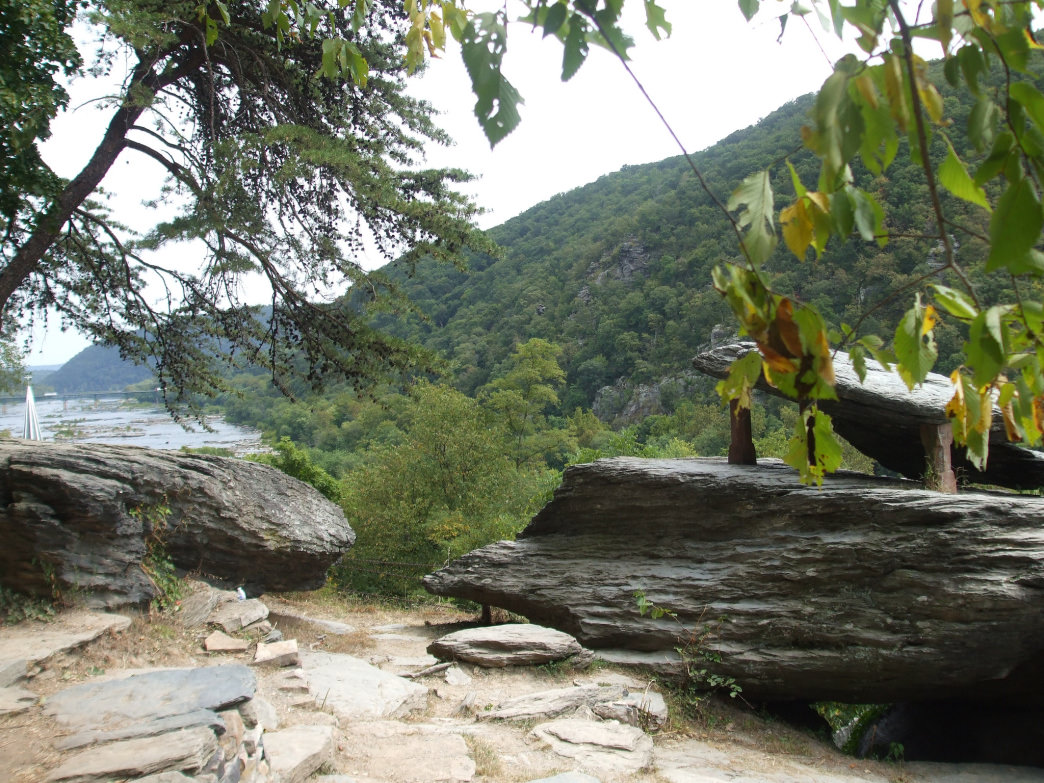 Harpers Ferry is considered the psychological midpoint of the Appalachian Trail.