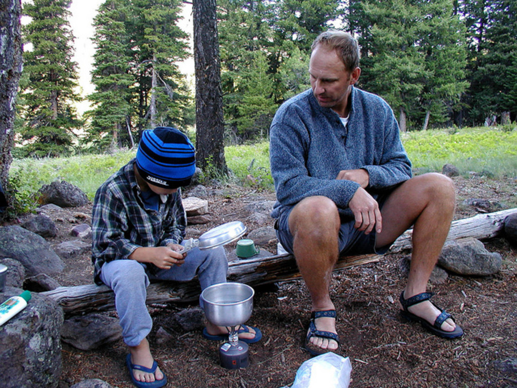 Practice some campfire cooking with your family this Labor Day weekend.