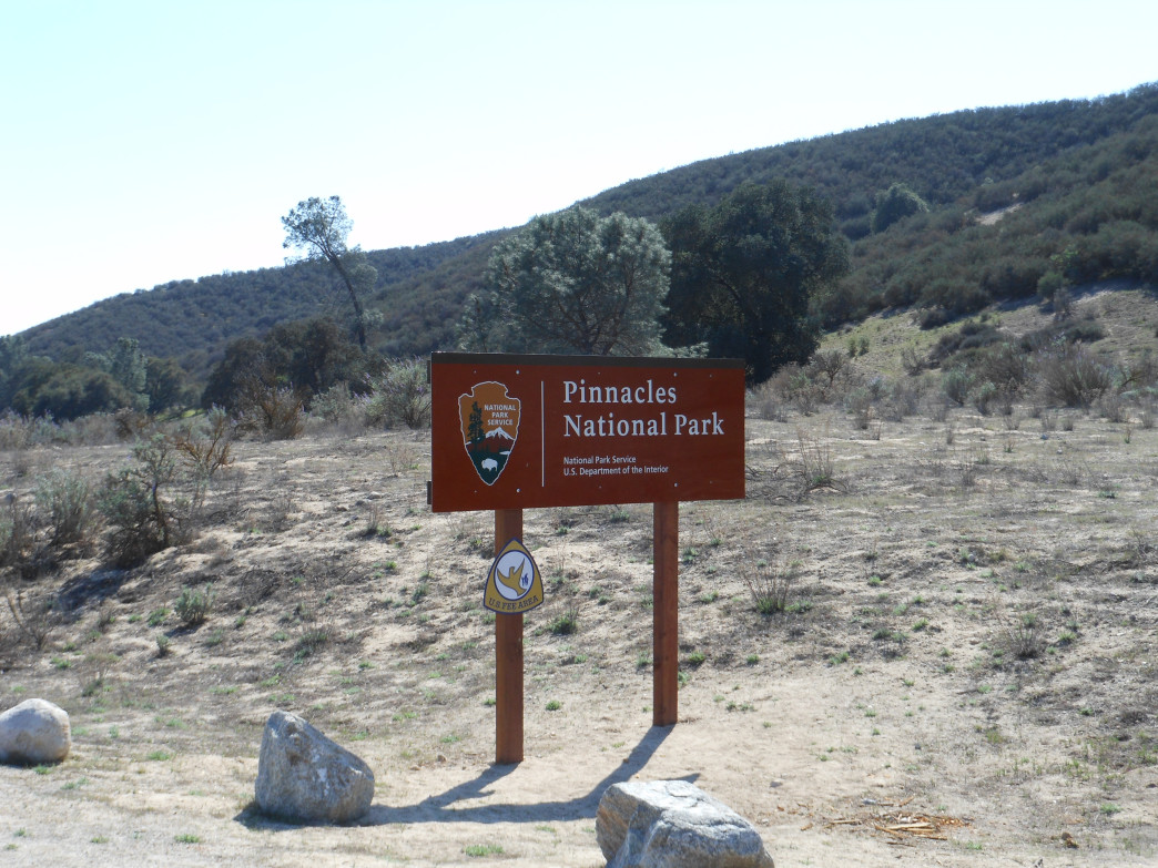 Welcome to Pinnacles National Park.
