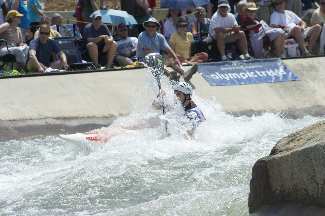 The USNWC has made whitewater kayaking an exciting spectator sport
