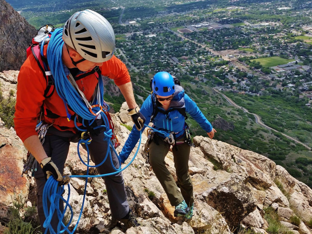 Ogden recently claimed a spot in Rock & Ice Magazine's list of top 10 climbing towns in the country.