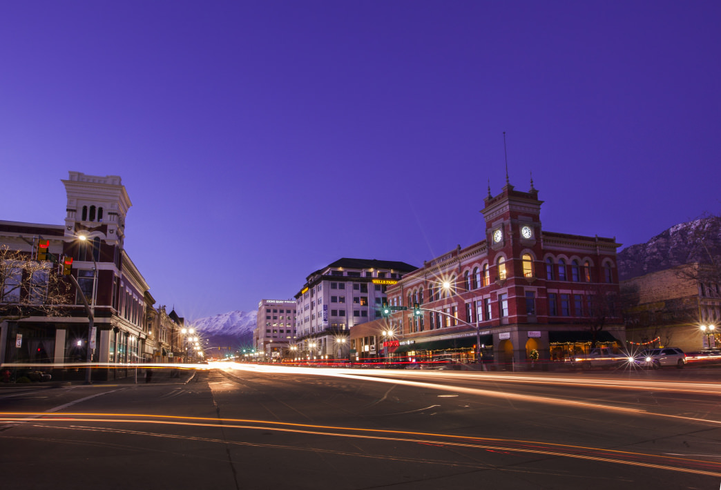 Downtown Provo serves as a great base of operations for your trip.