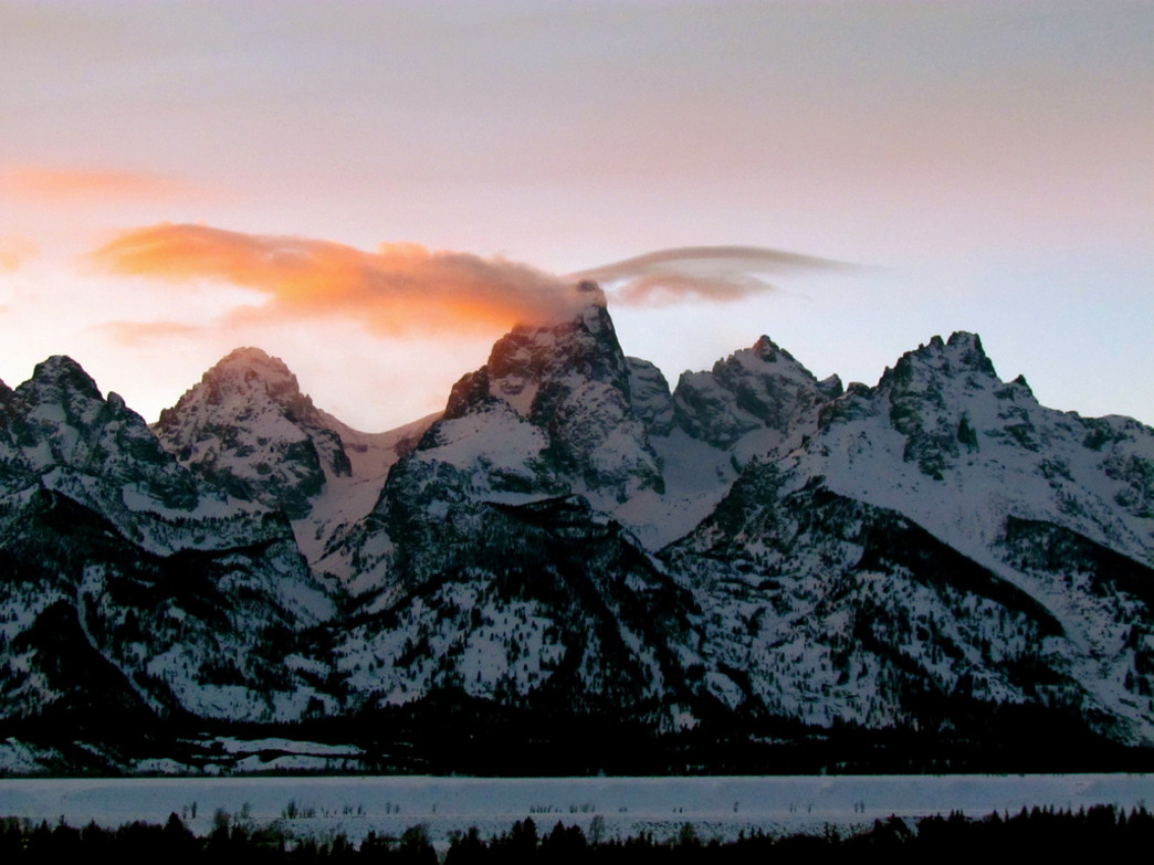 The Grand Teton in all its glory