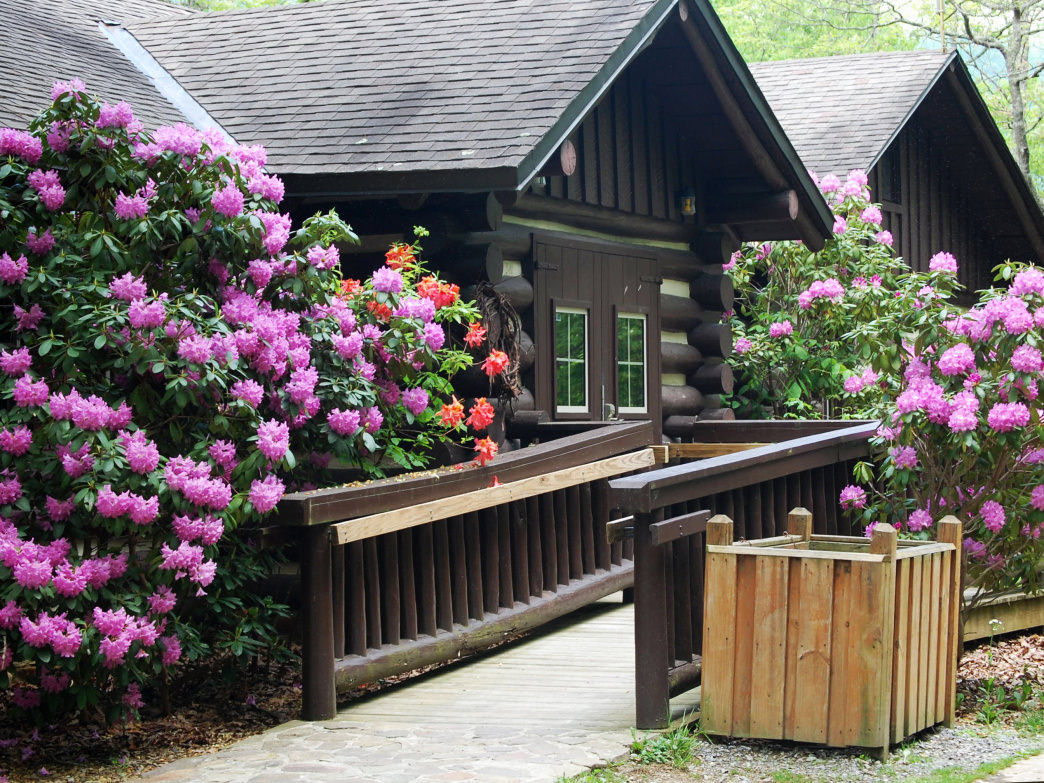 The lodge at Hungry Mother State Park is close to many activities around the plunge-worthy 108-acre lake.