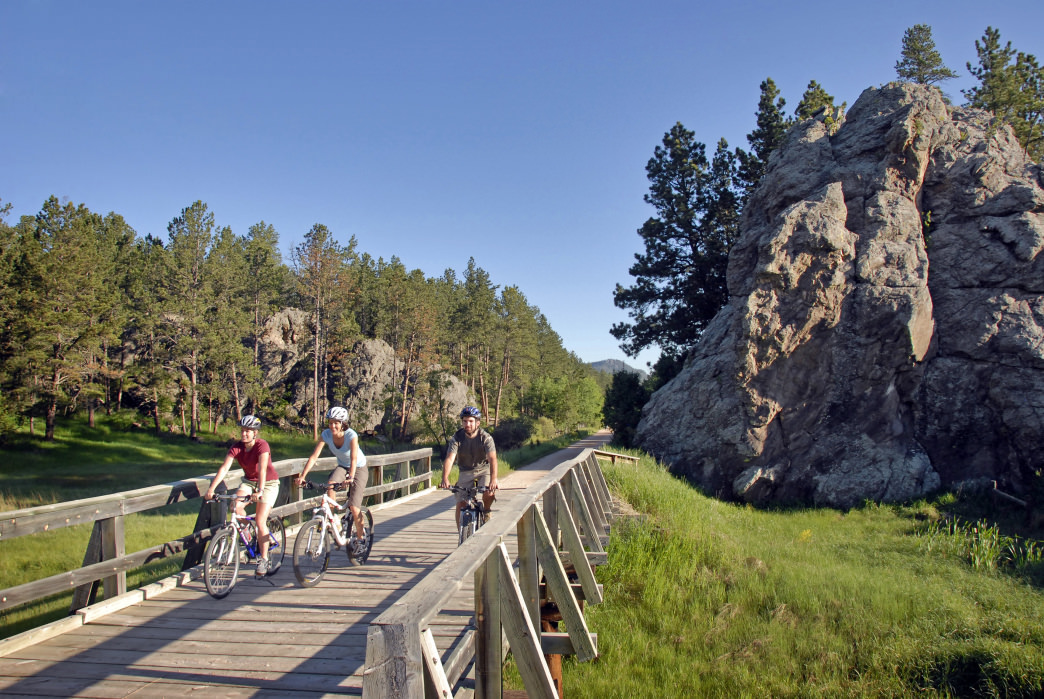 The 109-mile MIckelson Trail is one of the most popular bike routes in the state.