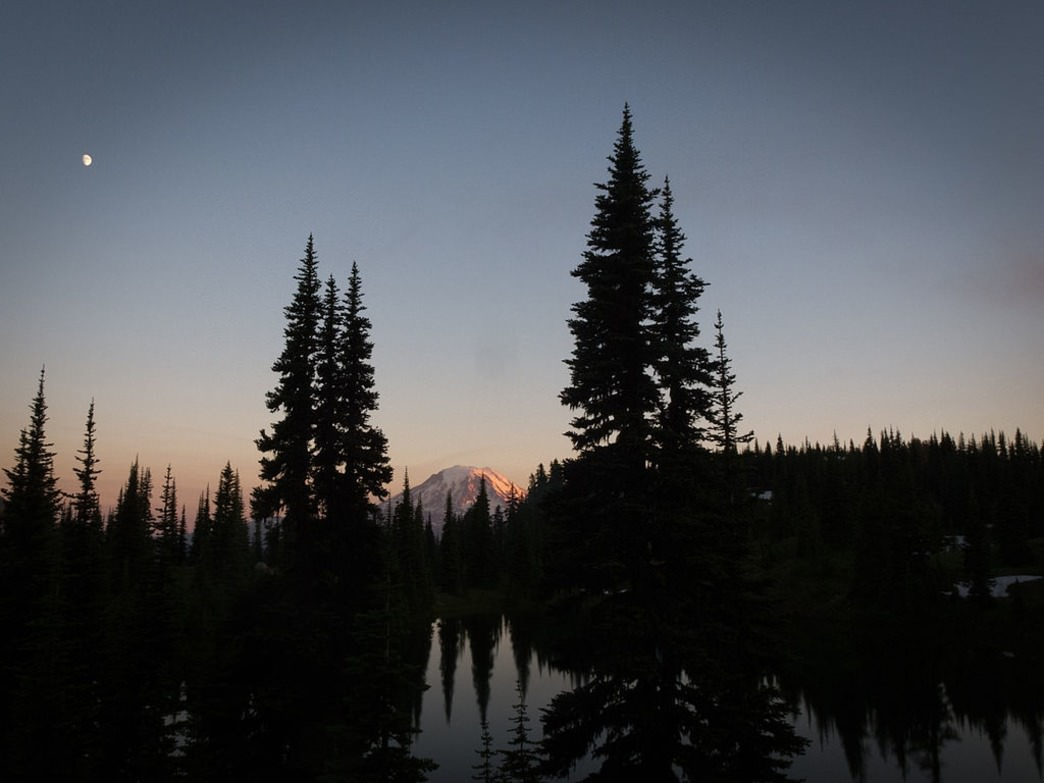 Mount Adams is a great place to enjoy dark skies.