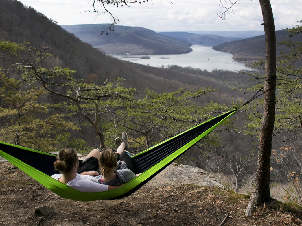 What could be better than hanging out in a hammock and taking in this view?