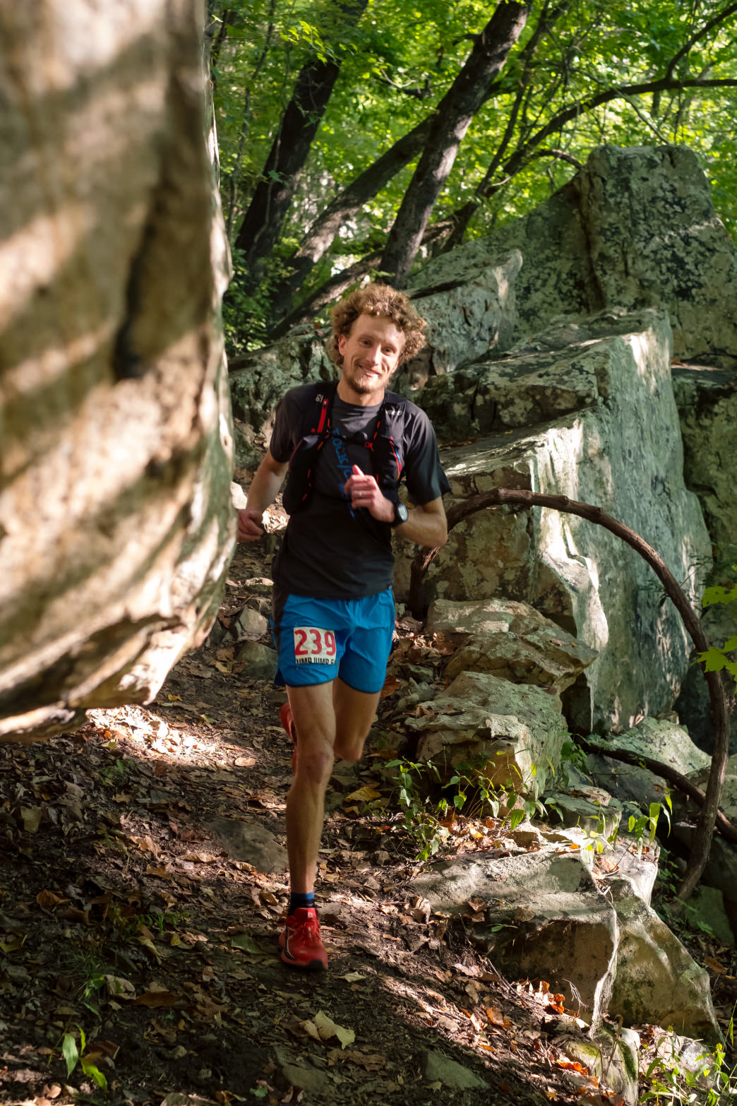 The Stump Jump 50K/15K takes trail runners across Signal Mountain and Walden Ridge.