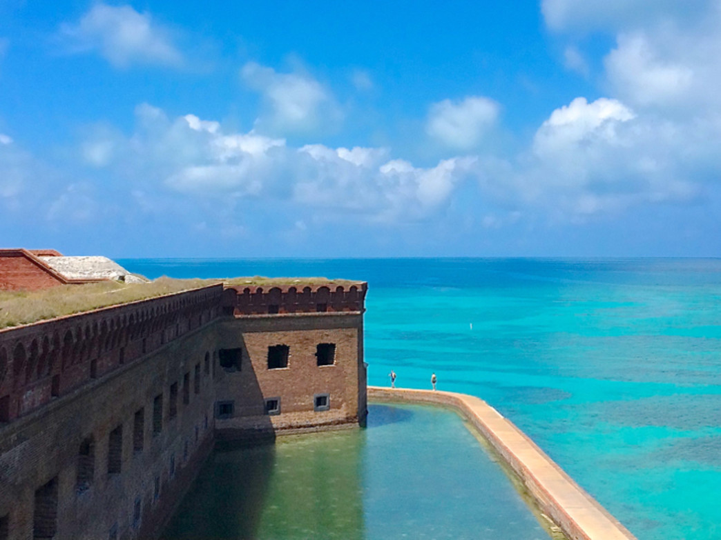 Fort Jefferson on Garden Key.