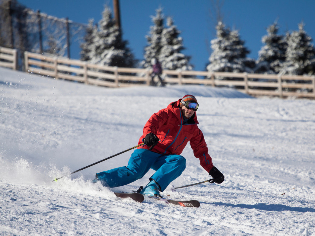 Buck Hill offers some of the best skiing close to the Twin Cities.