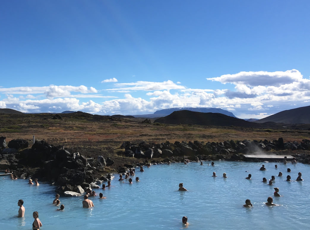 The crunchy lava fields and geothermal hot spot of Mytvan is a popular stop along the Ring Road, with good reason. Allow some time to explore this special place, including a soak in Mytvan Nature Baths, a quieter alternative to the Blue Lagoon.