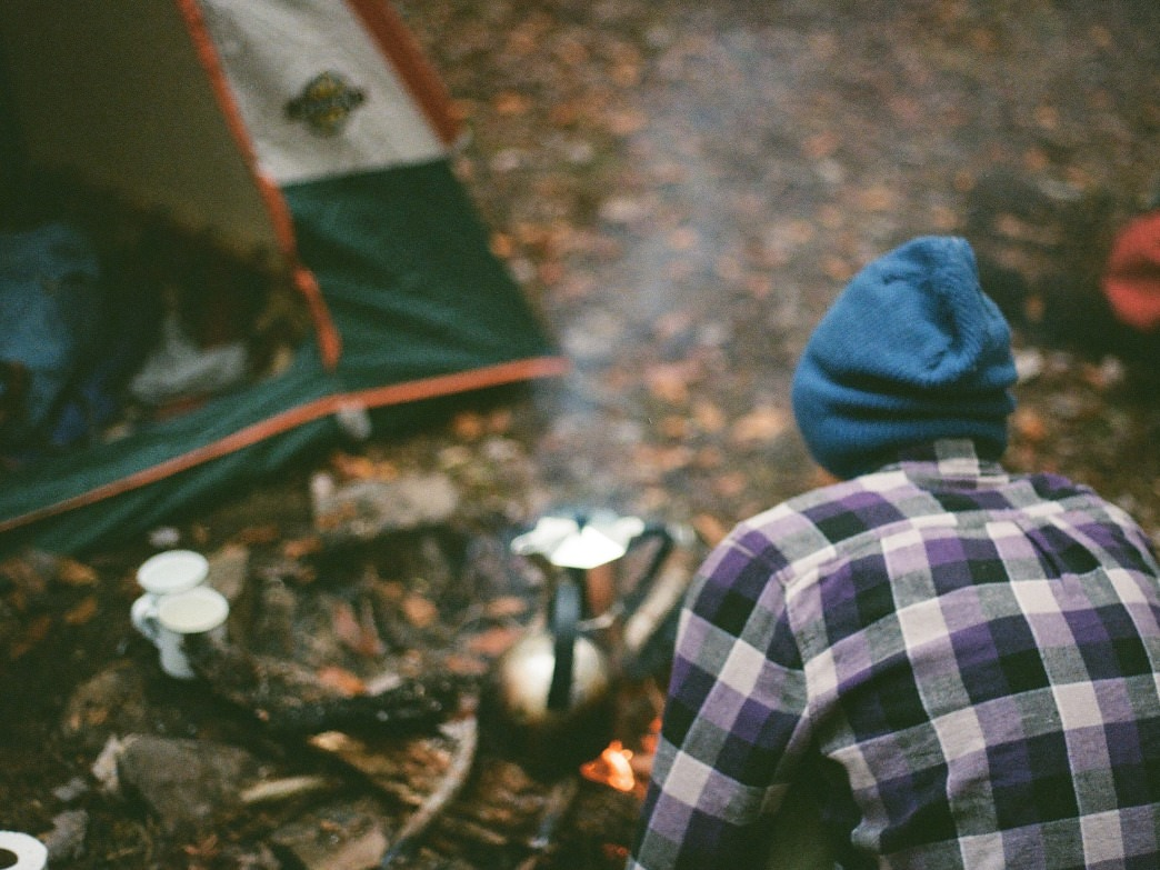 Winter camping around Nashville.