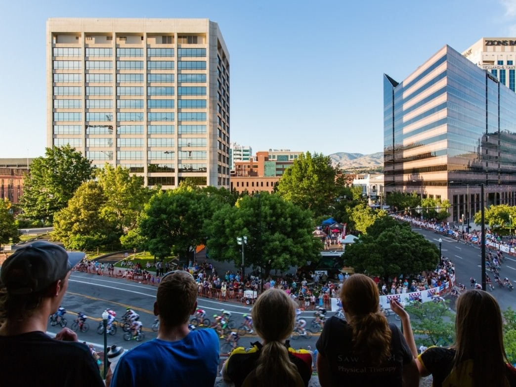 The Boise Twilight Criterium promises a great time for spectators.