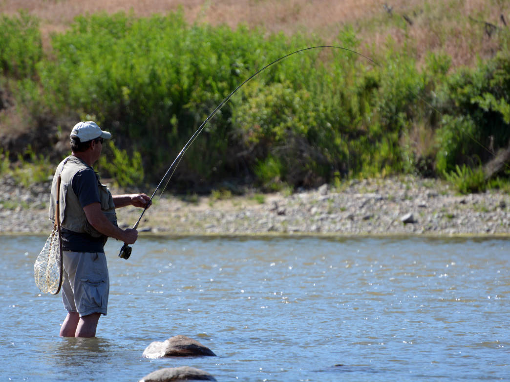 The Wind River Valley is one of the prime fishing destinations in the lower 48.