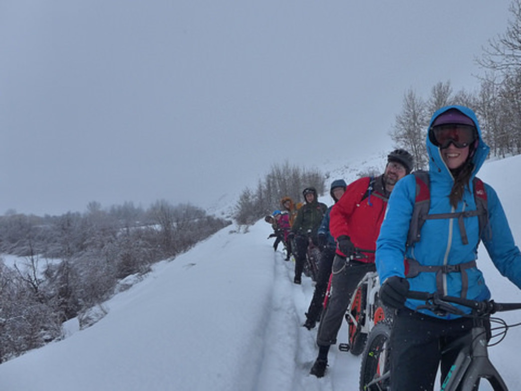 The Methow Valley in winter offers cross-country skiing, snowshoeing, fat biking, and more.