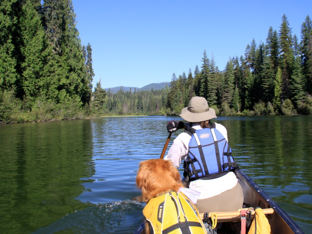 The Thorofare is a leisurely paddle and can be done as a day trip or an overnighter.