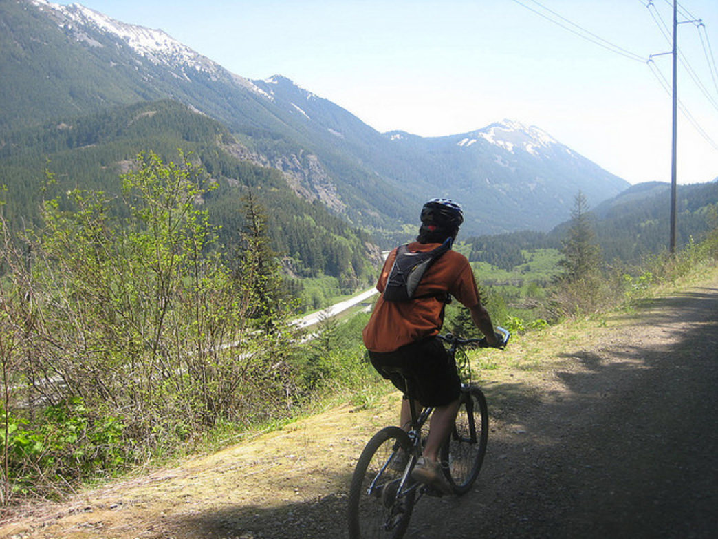 The John Wayne Pioneer Trail travels through the I-90 Corridor from North Bend to the Columbia River.