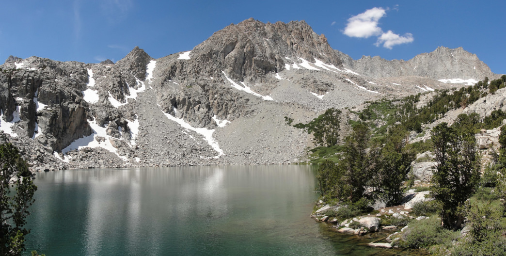 Midnight Lake is one of many pristine alpine lakes in the Bishop area. https://www.flickr.com/photos/miguelvieira/3767364629/in/photolist-6JUJfz-6JYLSs
