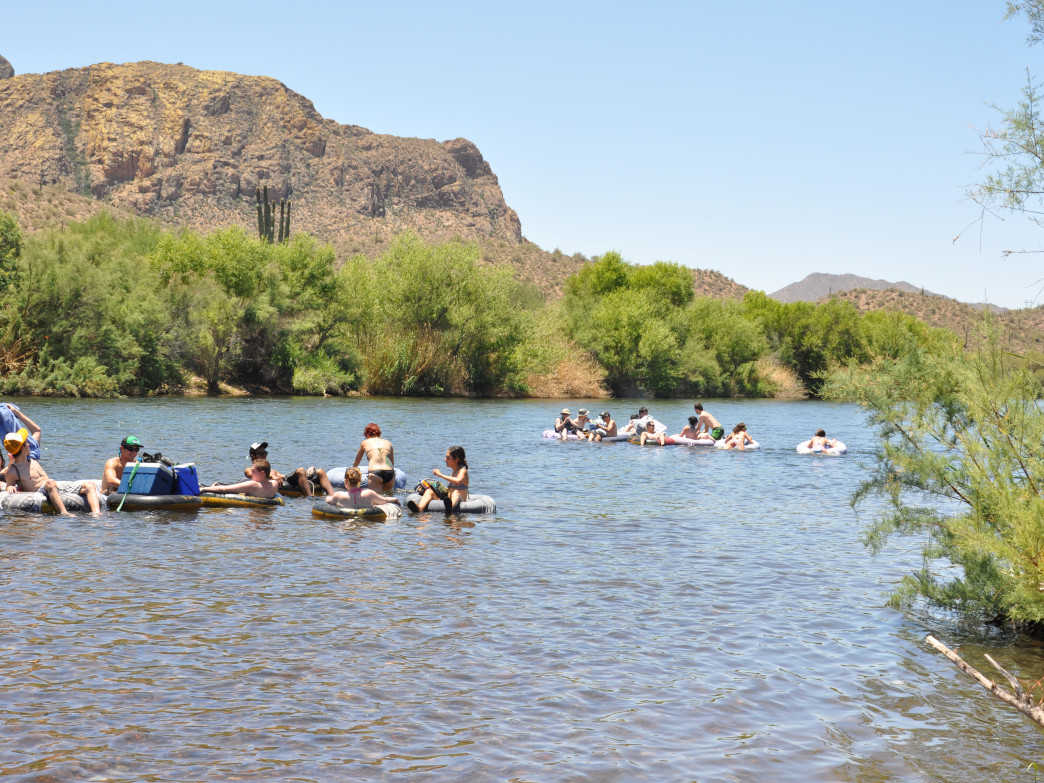Tubing on the Salt River.
