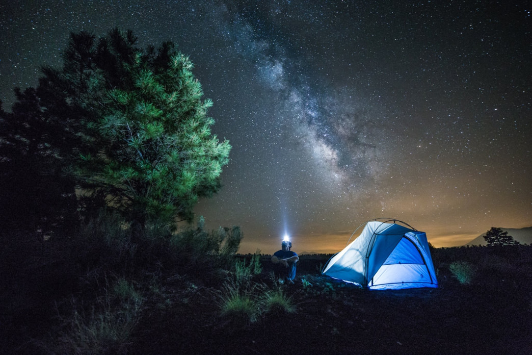 Your first time camping under a dark sky will be a mind-blowing experience.     Ryan Lima