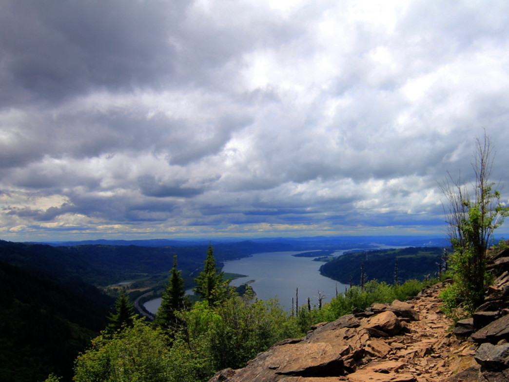 The view from Angel's Rest, one of Portland's most iconic hikes