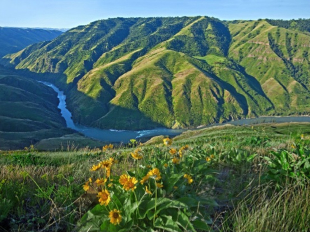 The Salmon River is one area that has benefited from LWCF funding.