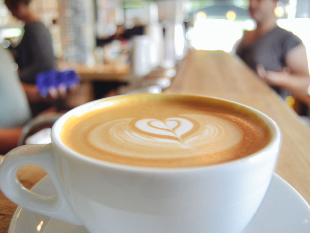 Love and coffee served up daily.