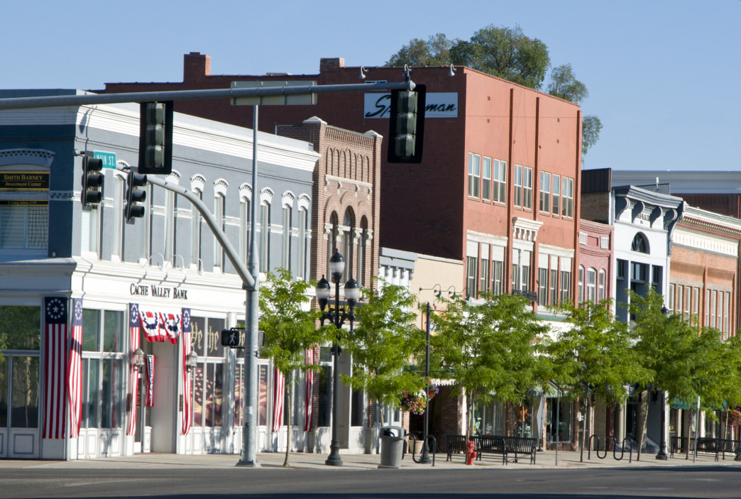 Logan's historic Main Street offers lots of options for shopping and dining.