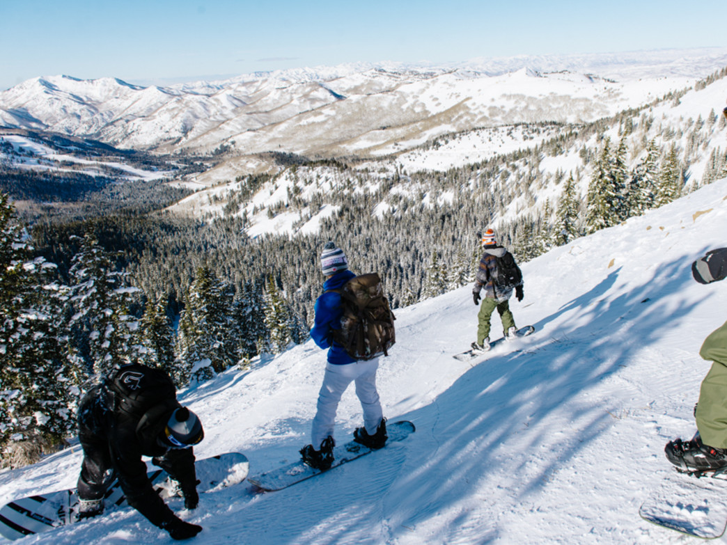 insider's guide to sidecountry skiing at brighton