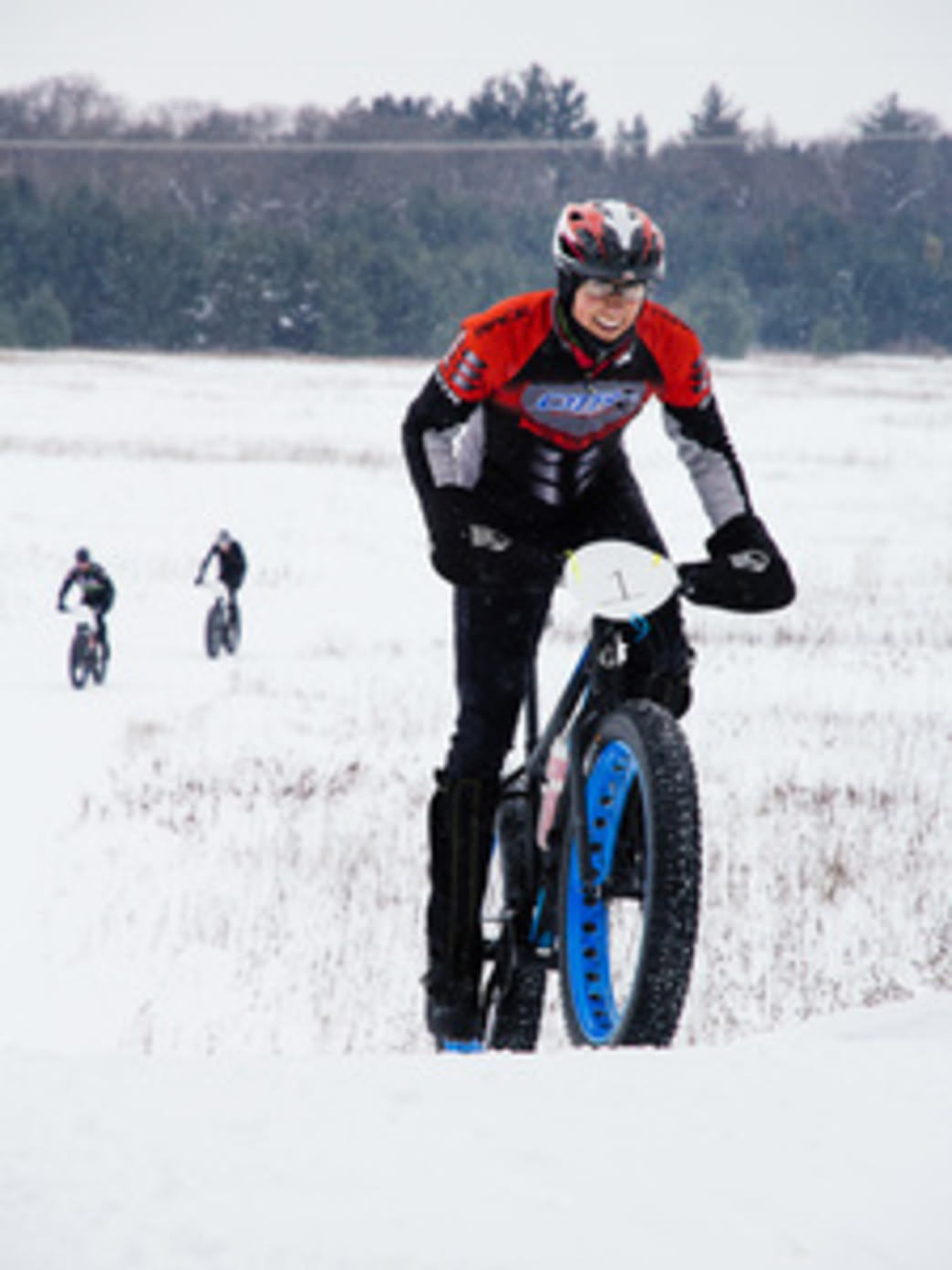 Fat bikes are more fun in snow, so keep your fingers crossed we get some soon!