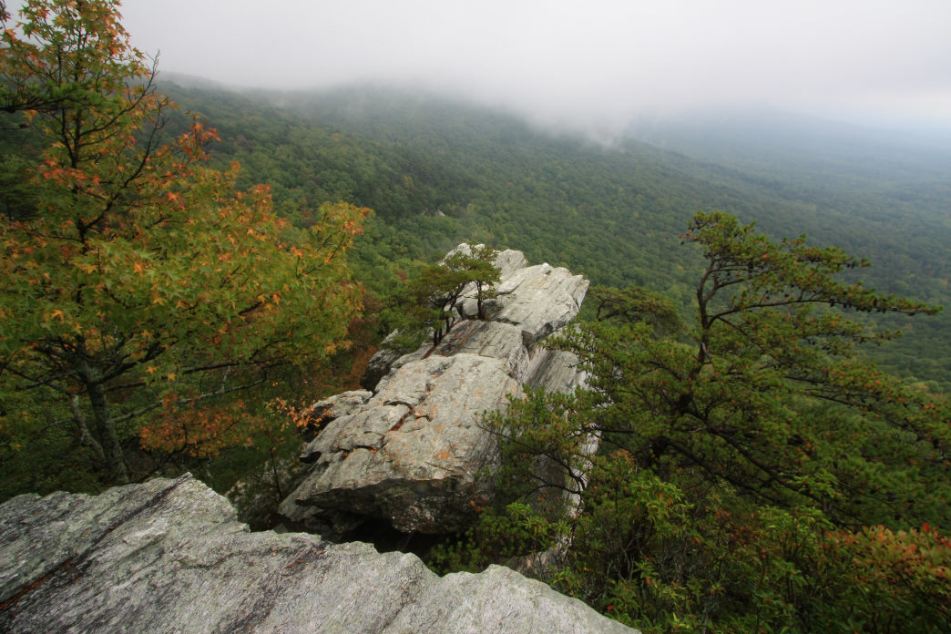 Cheaha Mountain is the perfect lookout at Cheaha State Park.
