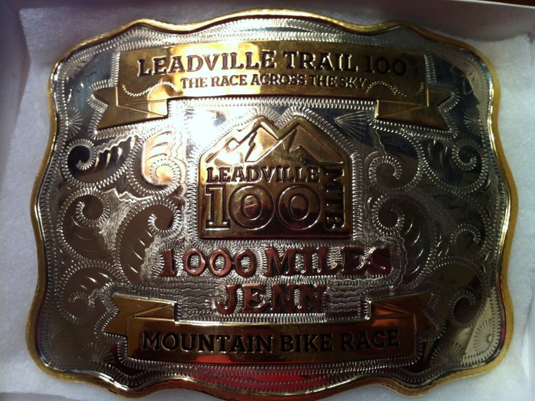 A sub 12-hour finish time earns you a coveted belt buckle. Ten-time buckle winner Jenn Dice holds a 1,000-miler for 10 qualifying finishes.