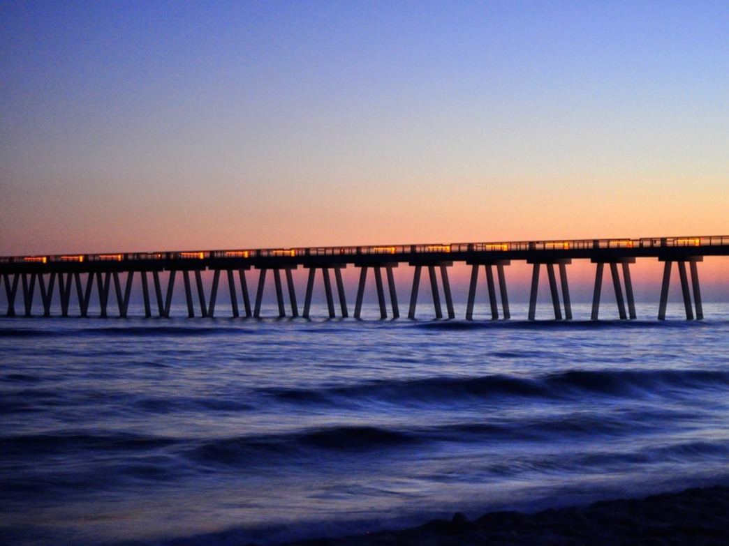 Longest fishing pier in the gulf of mexico fishing for Fishing piers in florida