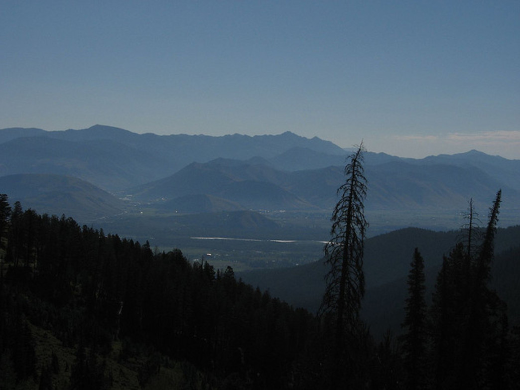 Great scenery awaits at the top of Teton Pass.