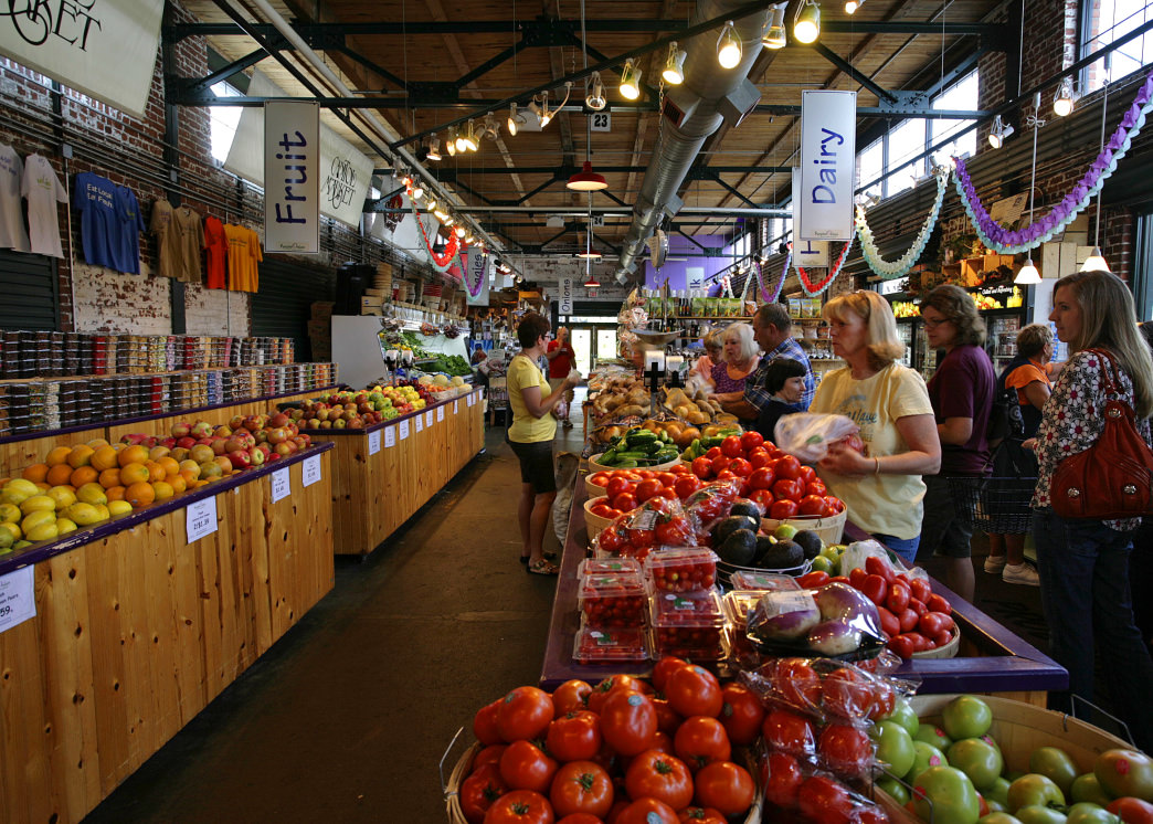 The Capitol Market is a great place to find local vendors selling foods, flowers, and more.      Rekko Patton