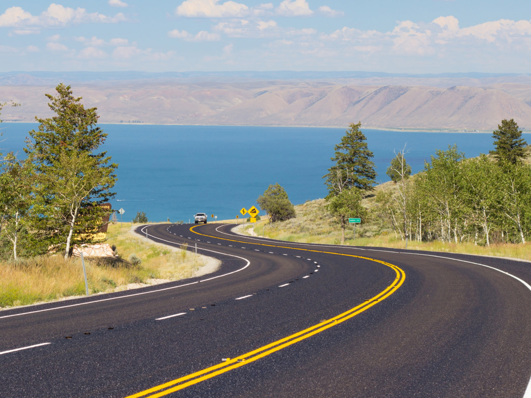 Bear Lake offers sandy beaches, turquoise water, boating and sunshine, what's not to love?