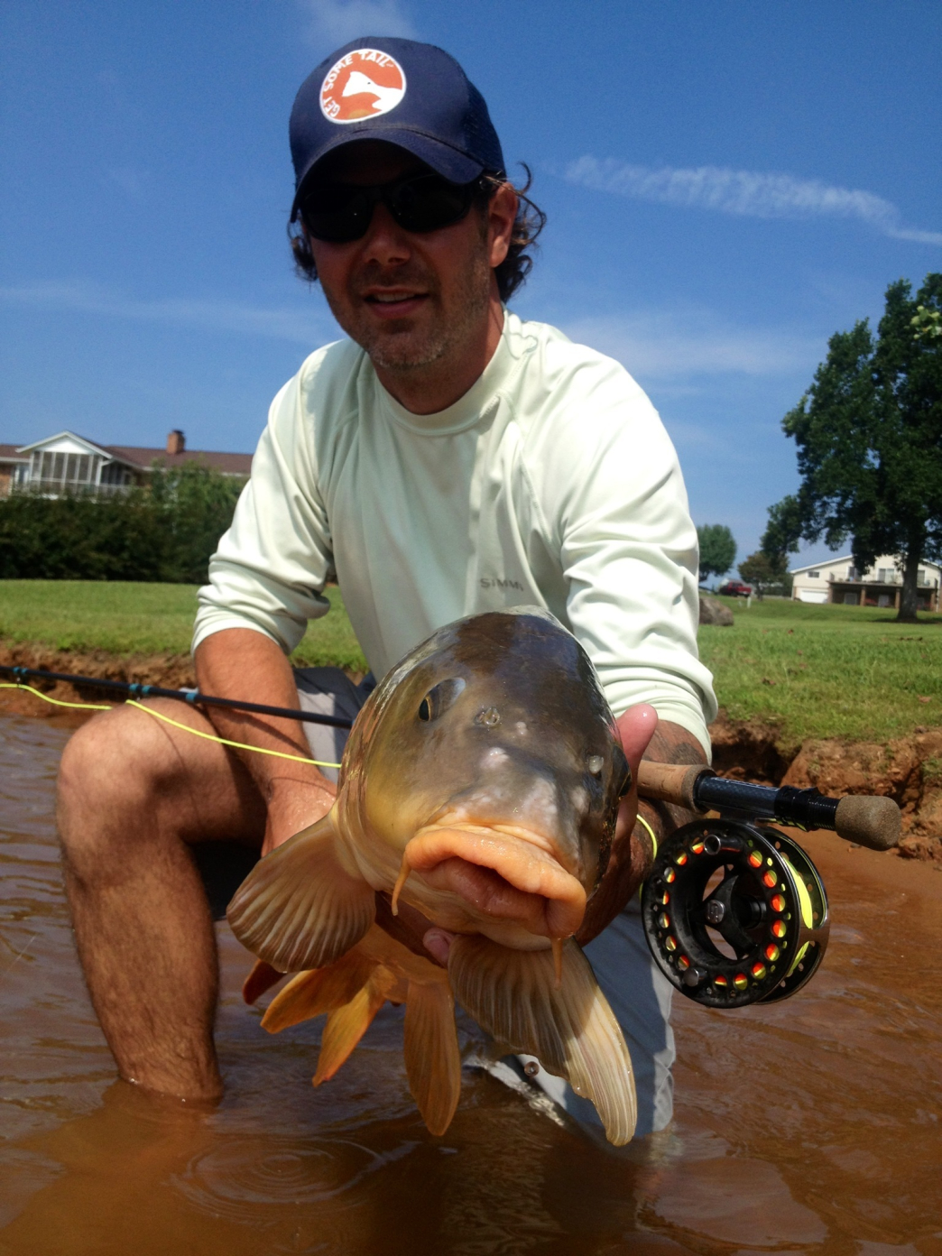 Charlotte Has Many Fly Fishing Options But It Pays To Get A Guide Help You Started Carolina Bonefishing