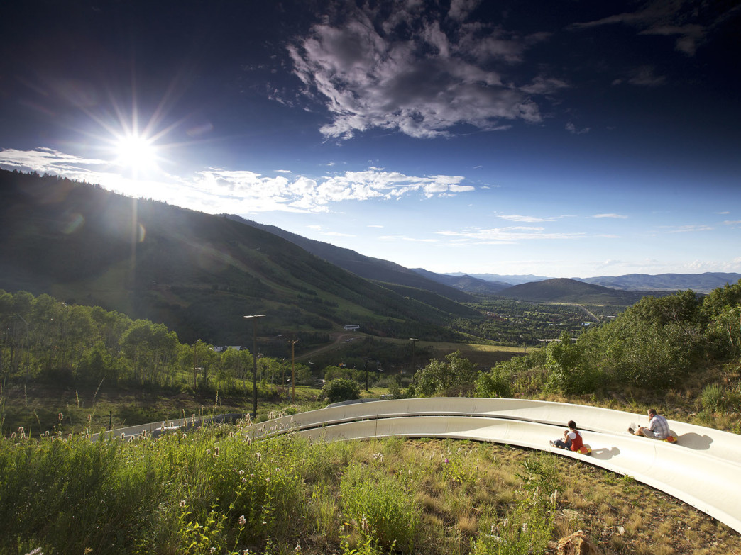 Zip down the alpine slides in Park City