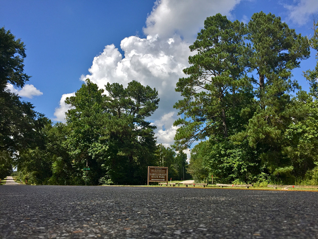 Lake Lurleen State Park offers an extensive trail system for hikers.