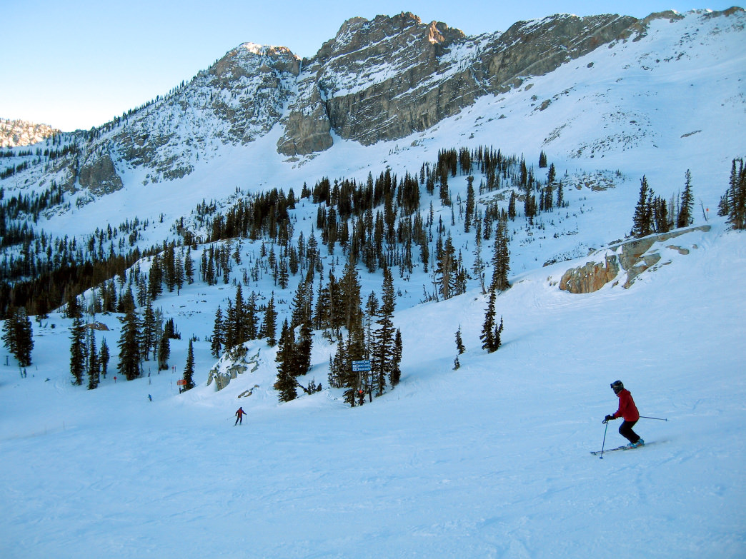 Alta, just outside of Salt Lake City, is a world-renowned resort that the locals also love.