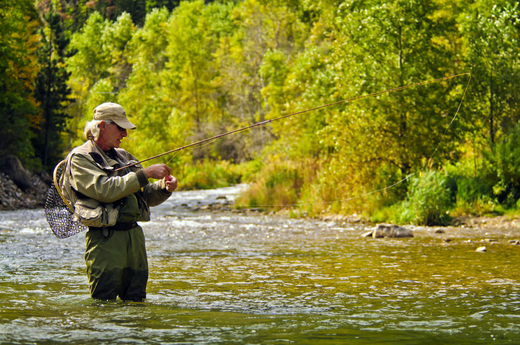 Spearfish Canyon is one of the state's top fly-fishing destinations.